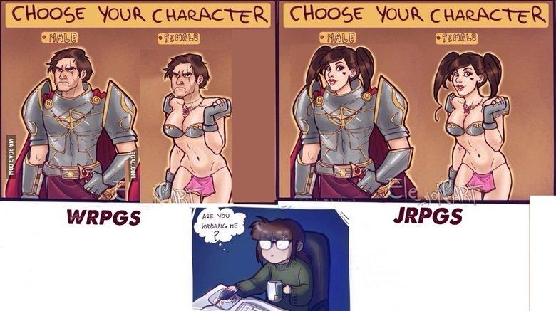RPGS. Not mine because Im an unoriginal cunt. fall Fleq . i 'Lilli rpgs cis faggots retards faggot