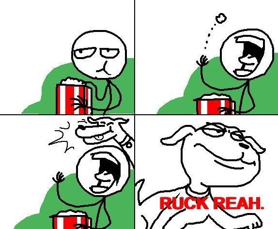 Ruck Reah. . Dog popcorn