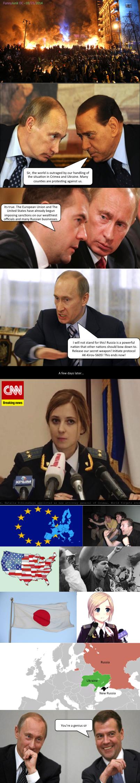 Russia's Secret Weapon. .. She's adorable russia ukraine Crimea Anime