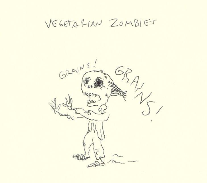 Vegetarian Zombies. . Vegetarian Zombies