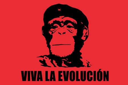 Viva la Evolucion!. watta . VIVA In monkey evolution Penis funny viva red black