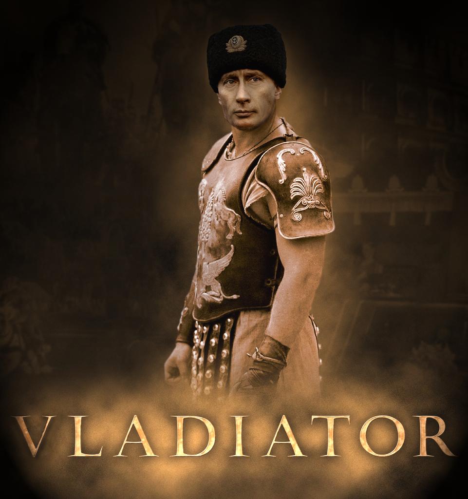 Vladiator. OC.. vladimir putin gladiator
