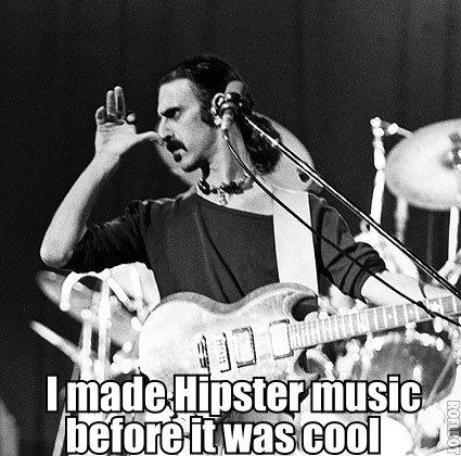 Zappa. . hipsters Rock Zappa frank