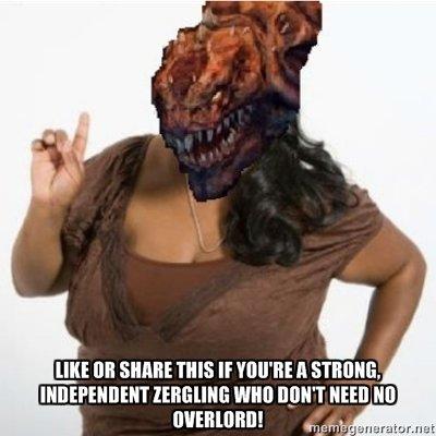Zergling. SPAWN MOAR OVERLORDZZ. Ustt an slum: nus If mm A STAM, um um: nun no. Erm, you FORGOT ABOUT THE GALGAMEX Starcraft blizzard black woman
