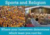 Sports & Religion!