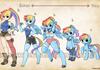 Rainbow dash transformation