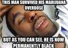 Don't inject marijuanas