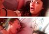 When selfies take a turn.