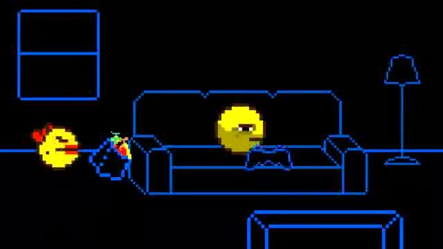 Pac Man Plays Skyrim. Dorkly Bits.