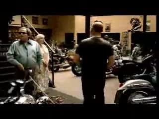 Blind Guy Motorcycle Commercial. .. norwegian
