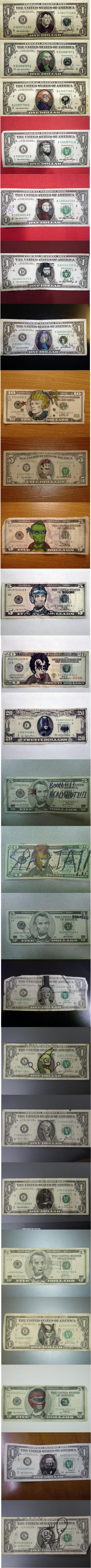 25 best defaced bills. .. aww! What about the boner one? The $1 bill, bONEr. xDD I still think its funny.. 25 best defaced bills aww! What about the boner one? The $1 bill bONEr xDD I still think its funny