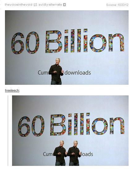 60 Billion. I just found it on tumblr.. 2 - H Source' freeleech: 60 Billion I just found it on tumblr 2 - H Source' freeleech: