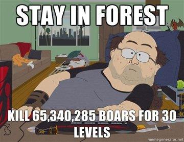 65,340,285 boars. kill em all. 65 340 285 boars kill em all