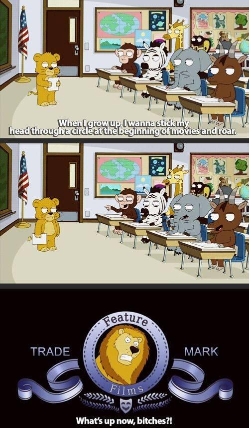 B. one of the reasons I love Family Guy. Whatt up niw, hitches?! B one of the reasons I love Family Guy Whatt up niw hitches?!