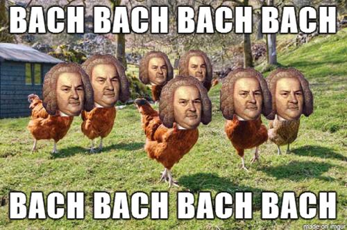 Bach bach. just a pun. inure. . Pta. BACH IN BLACK Bach pun