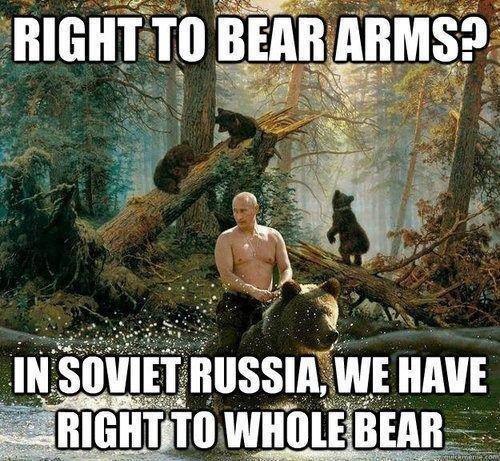 Back in the U.S.S.R.. . allt - u in. in soviet russia they have the right to ARM BEARS yakov smirnoff yakov smirnoff