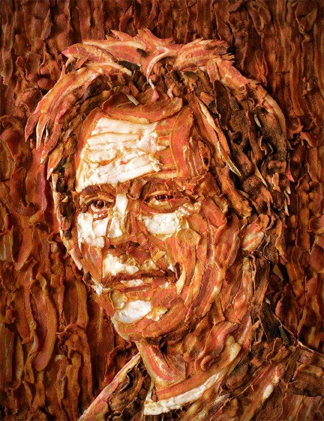 Bacon Kevin Bacon. From StumbleUpon... Bevin Kacon i heard You like Bacon