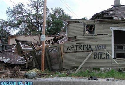 Bad BreakUp. we all hate katrina that slimy bitch. HRH.. lol the tags katrina is a bitch skank whore bad Breakup Rock You like hurricane house
