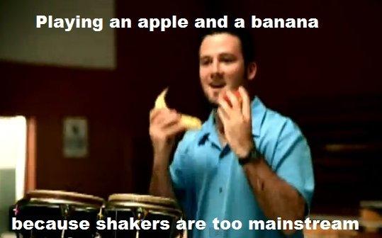 Banana. Just cause i can. Banana apple