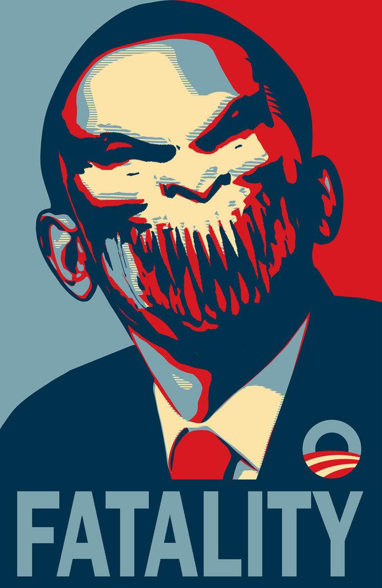 Baraka Obama. finish him! creddit.. i bet people here don't even know who is baraka pic semi related Mortal Kombat