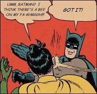 Batman Bee Slap. . EN HF Bale % Batman Bee Slap EN HF Bale %