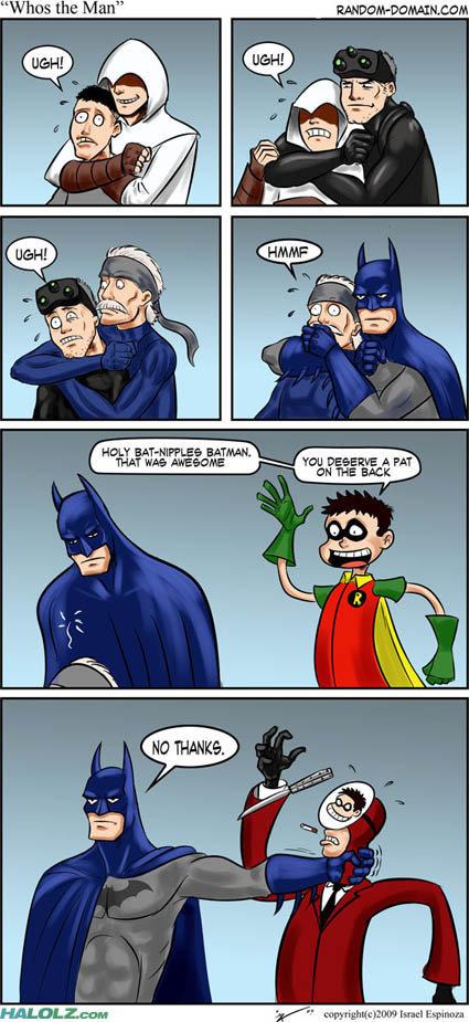 Batman epicness!. Just found this on halolz. Sorry if repost.... an we am: u. rum illa@ Batman epicness! Just found this on halolz Sorry if repost an we am: u rum illa@