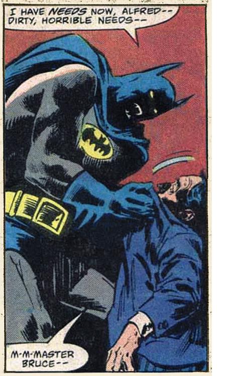 Batman has needs. derp. DIRTY, HORRIBLE. The dark knight rises batman