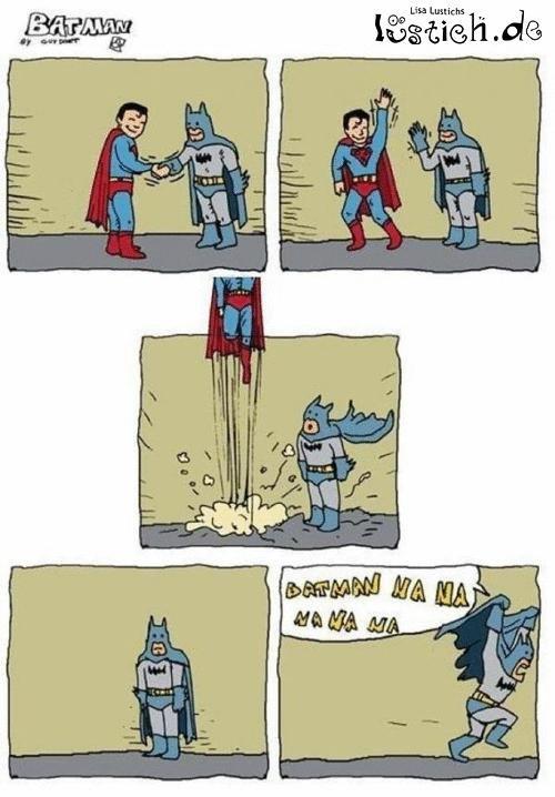 batman. nanananana. batman nananana Fly Superman