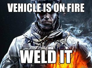 Battlefield 3 Logic. makes perfect sense... Ur god damn right it makes sense, doing the American way still better than modern warfare three