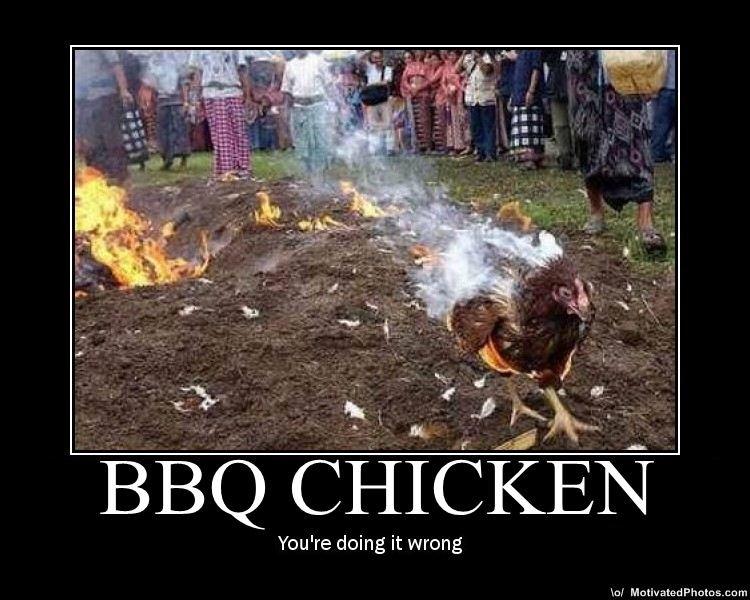BBQ. .. SONGBIRD! chicken BBQ