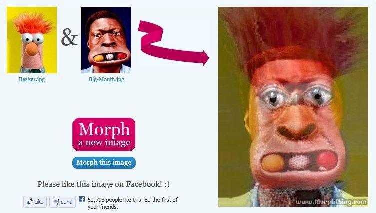 Beaker Big mouth morph. . beaker big mouth morph