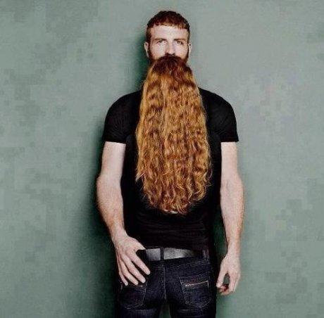 Beard Illusion. Not mine, just sharin'... Huehuehue beard Hair