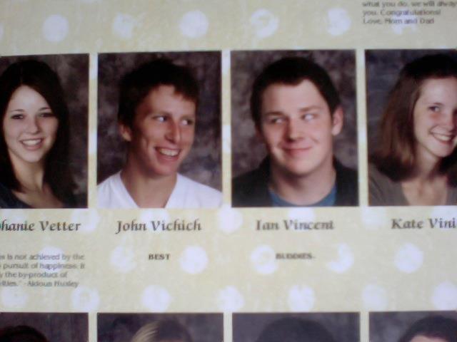 "Best Buddies. gotta love em. titanic betur :' hint Vi"" -ll highschool"