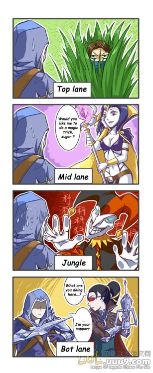Best Lane. It's a legitimate strategy.... Talon
