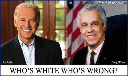 Biden vs Wilder. . joe biden doug wilder funny pic chain