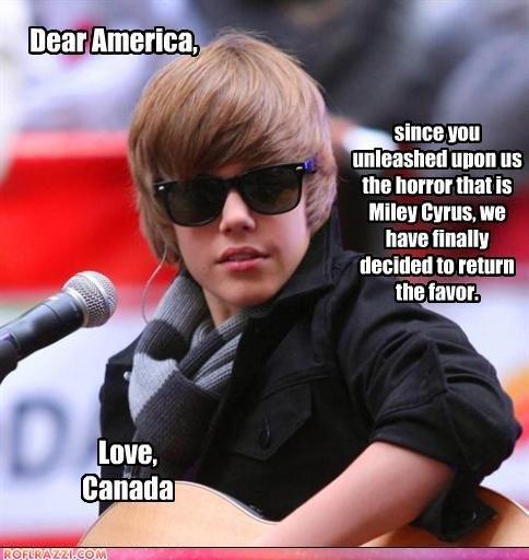 bieber letter. letter... since tutu unleashed Ilium us f the that is unaided tn ret. mmt.. Screw Iran, UN sanctions should be put on Canada. Bieber Letter