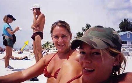 Bikini Time. Nice guy in the background... Bikini Time Nice guy in the background