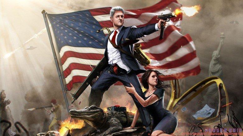 Bill Clinton is the best Clinton. Source: Imgur.. what you say dog? Bill Clinton is the best Source: Imgur what you say dog?