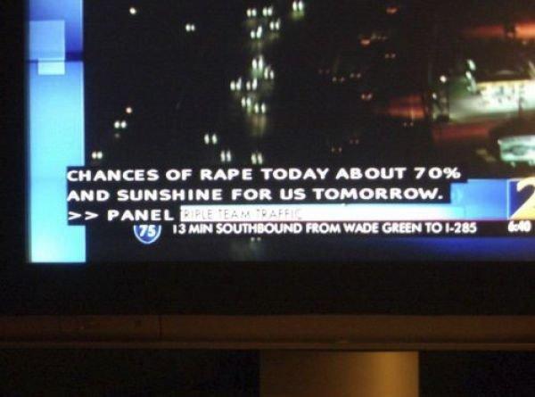 Bit hey....it´s gonna be sunny!. it will be a nice day for rape. INCES OF RIPE TODAY HI-' U' |. IT TOM, 3- PANEL. I like those odds. asdasdasdasd
