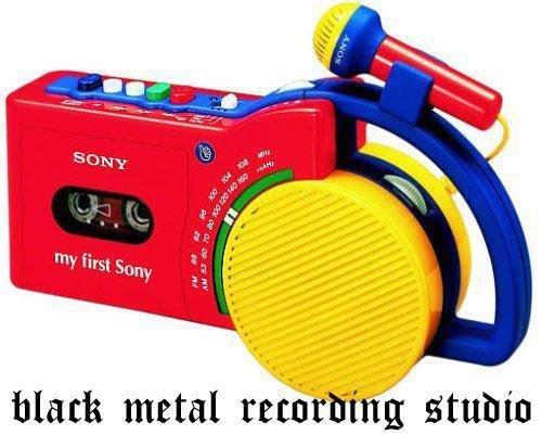 Black Metal Recording Studio. Tags are a lie.. obligatory a lie
