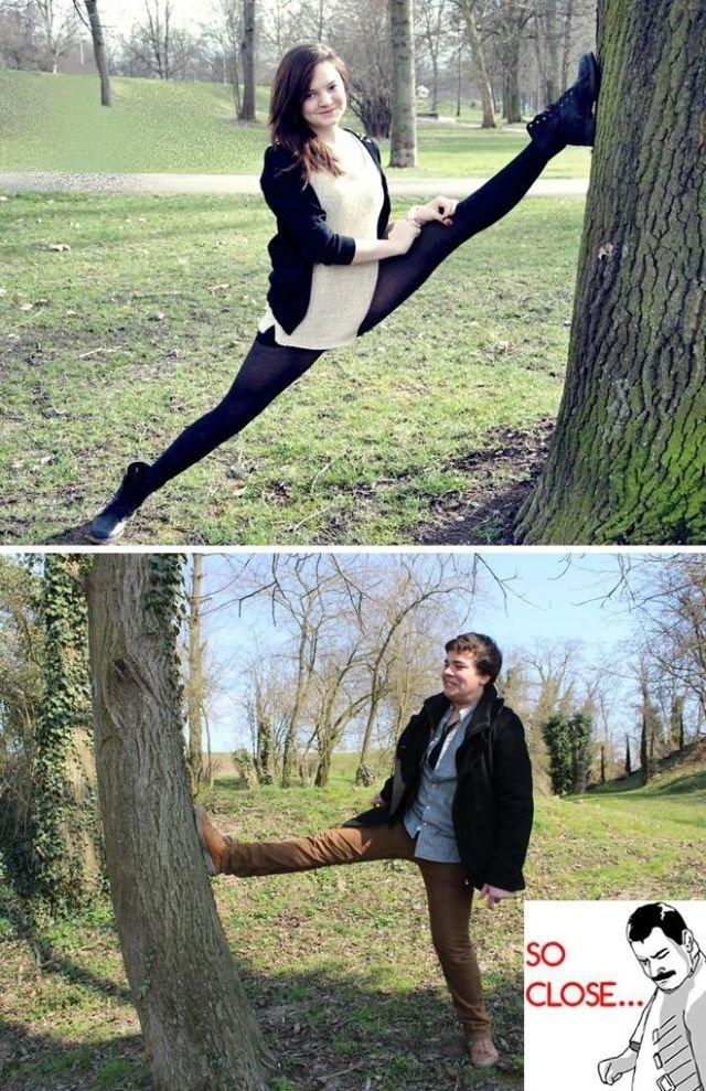 .. .. Flexible girls....  Flexible girls