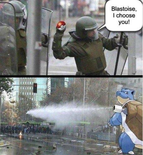 Blastoise, I Choose You!. . you!. opening water blastoise piokemon
