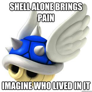Blue shell. . shell