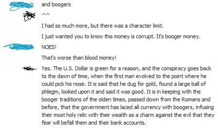 Booger Money. . Booger Money