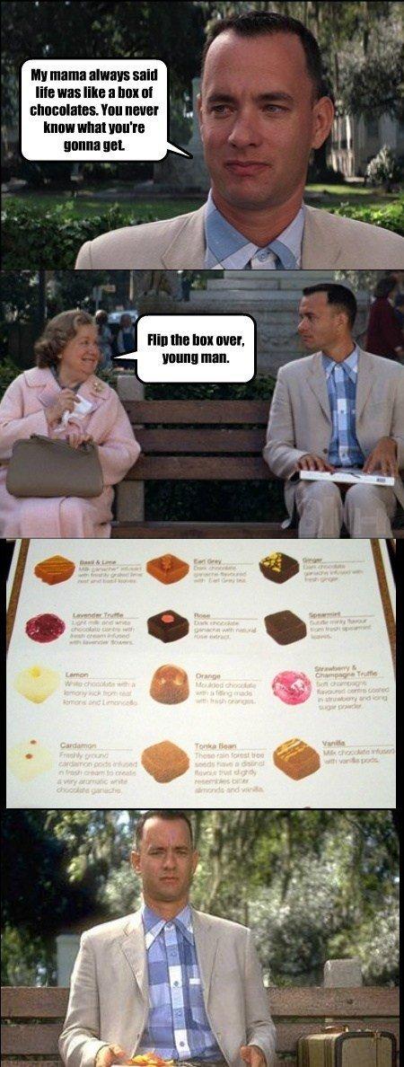 box of chocolates. . ll mama flan said We was Trl. I Tr, Inf . hifi yank t l box of chocolates ll mama flan said We was Trl I Tr Inf hifi yank t l