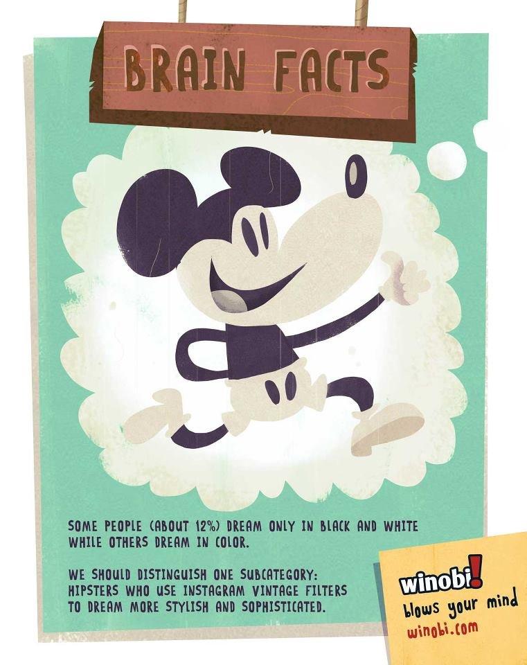 Brain facts. .. more like brain fact Brain facts more like brain fact