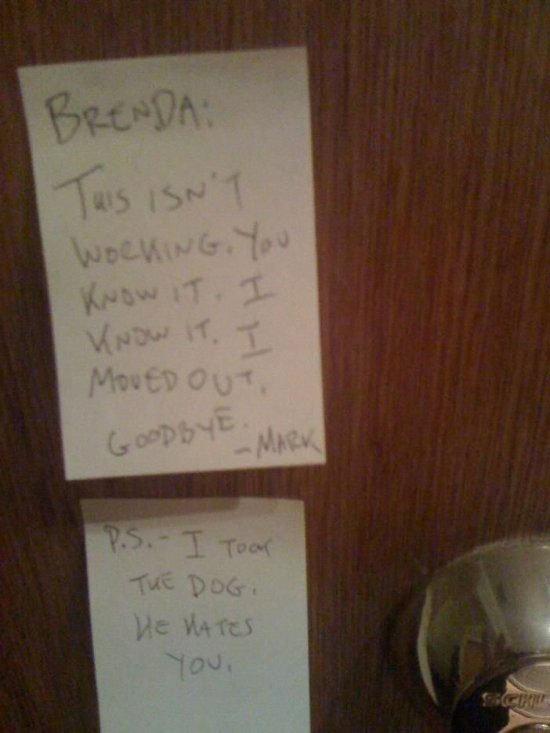 Break Up Notes Pt. 5. . Break Up Notes Pt 5