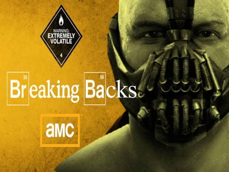 Breaking Backs- Bane. My shops skills are....horrible. EXTREMELY VOLATILE breaking bad bane OC WTF