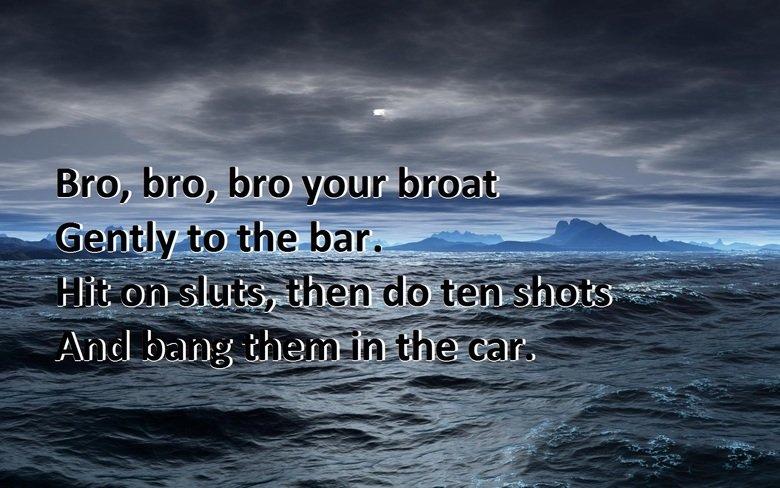 Bro, bro, bro your broat. I made my self a new wallpaper =D. Bro bro your broat I made my self a new wallpaper =D