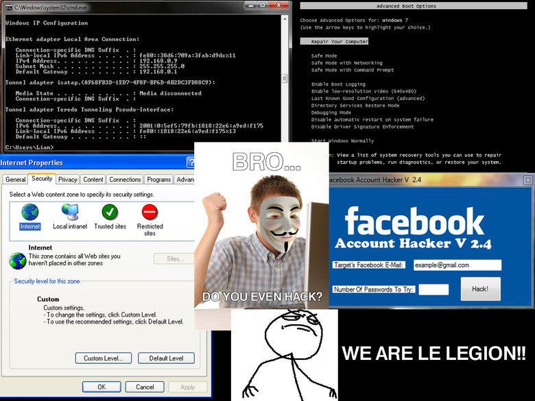 Bro...do you even hack?. . wut